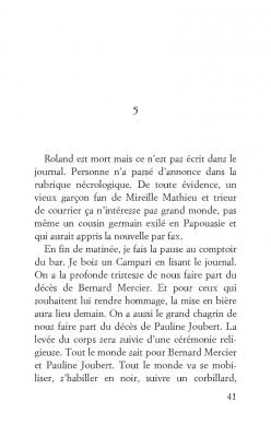 Roland est mort, Nicolas Robin, Éditions Le livre de Poche