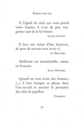 Perles de vie, René de Obaldia, Éditions Grasset